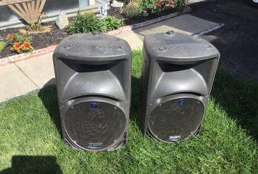 Mackie & Yorkville Speakers